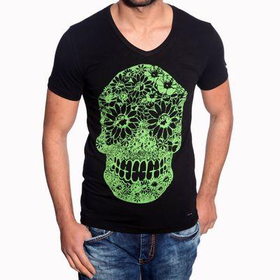 T-Shirt Schwarz 6678 R-Neal