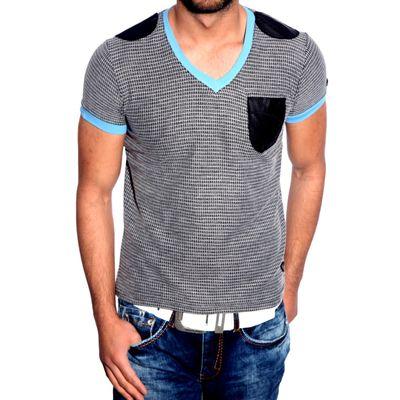 T-Shirt Schwarz R-Neal 6684