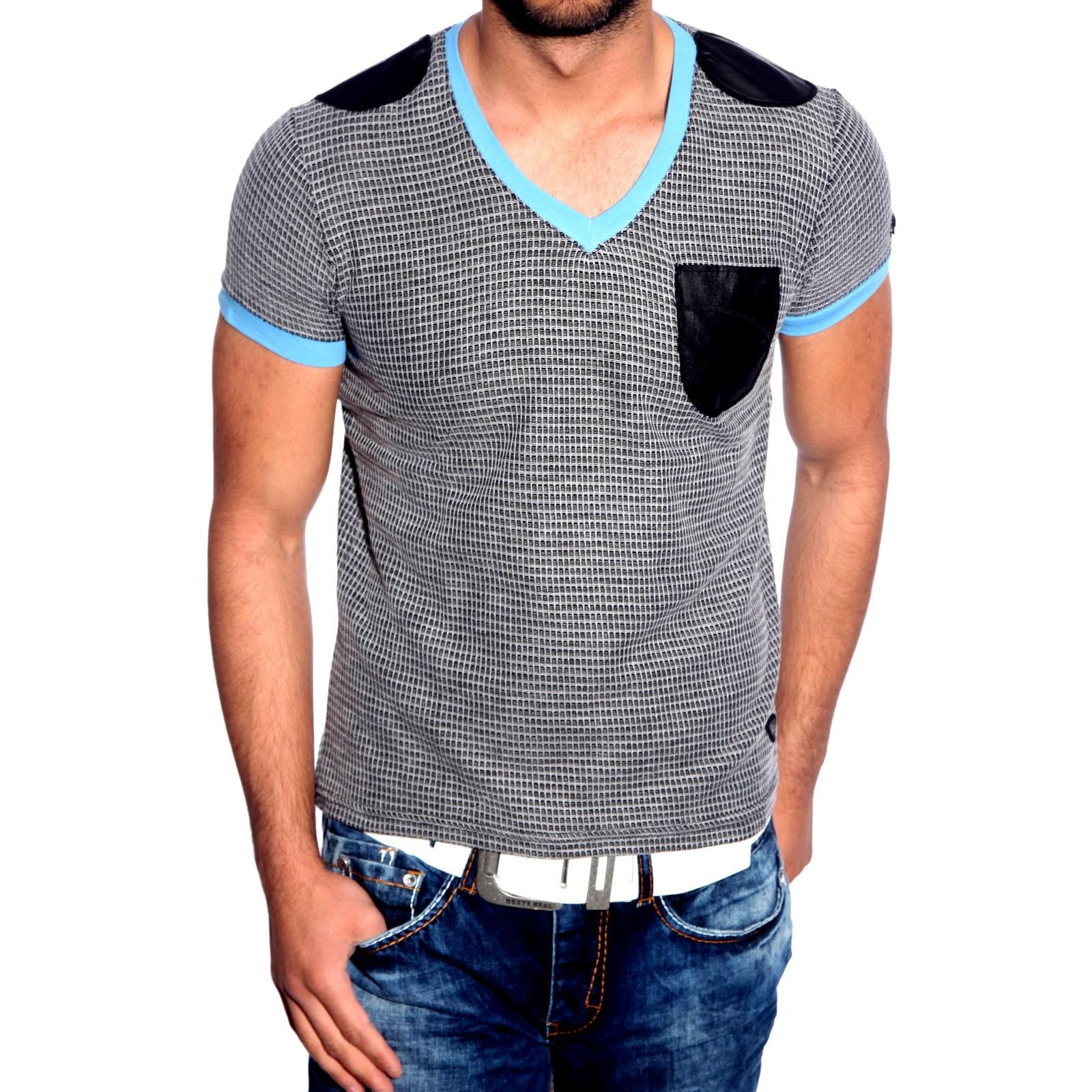 T-Shirt Blau 6684 R-Neal
