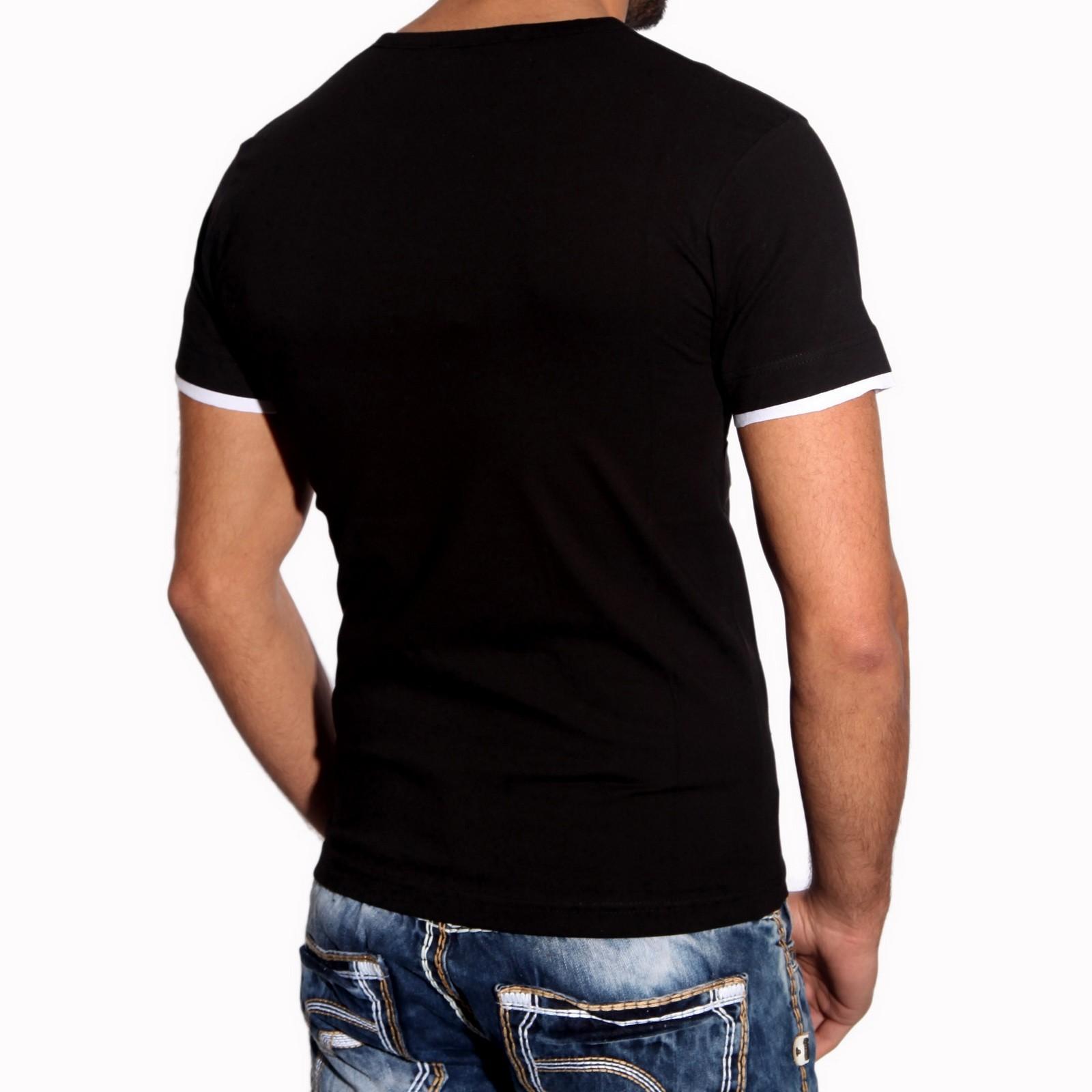 T-Shirt Schwarz 2730 Rusty Neal