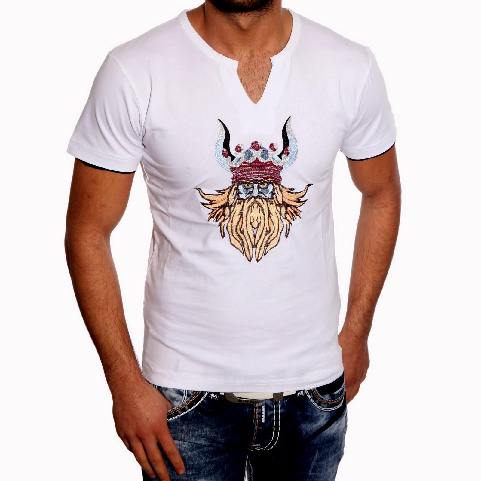 T-Shirt Weiss 2730 Rusty Neal