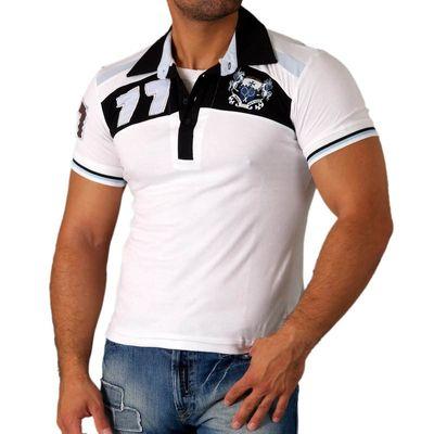 Rusty Neal Shirt Herren Poloshirt Polohemd Kurzarm Freizeit-Shirt Polo RN-304