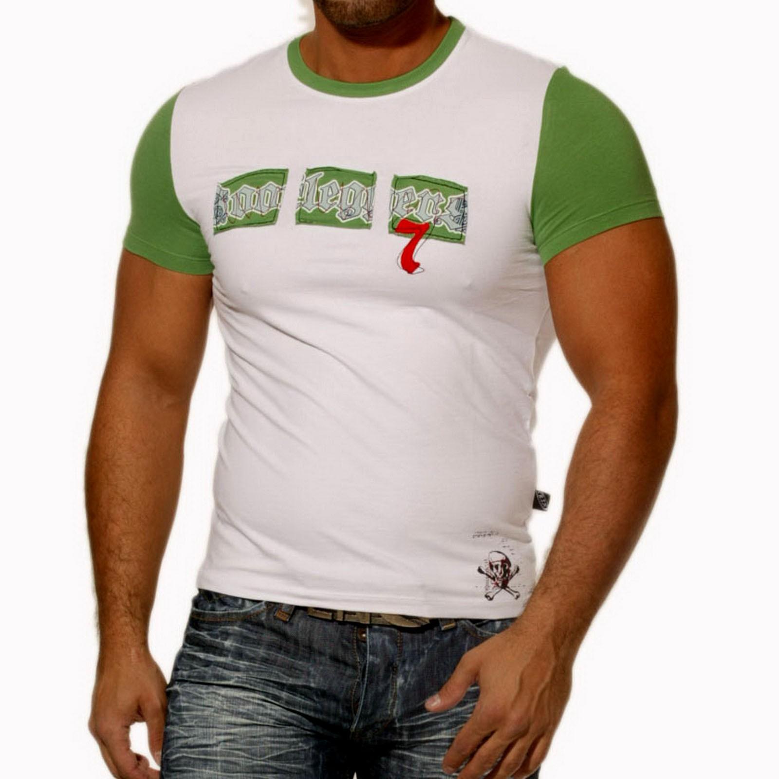 T-Shirt Weiß 713 Rusty Neal