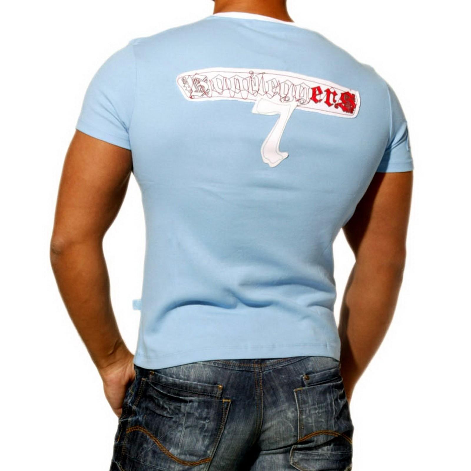 T-Shirt 712 Blau Rusty Neal