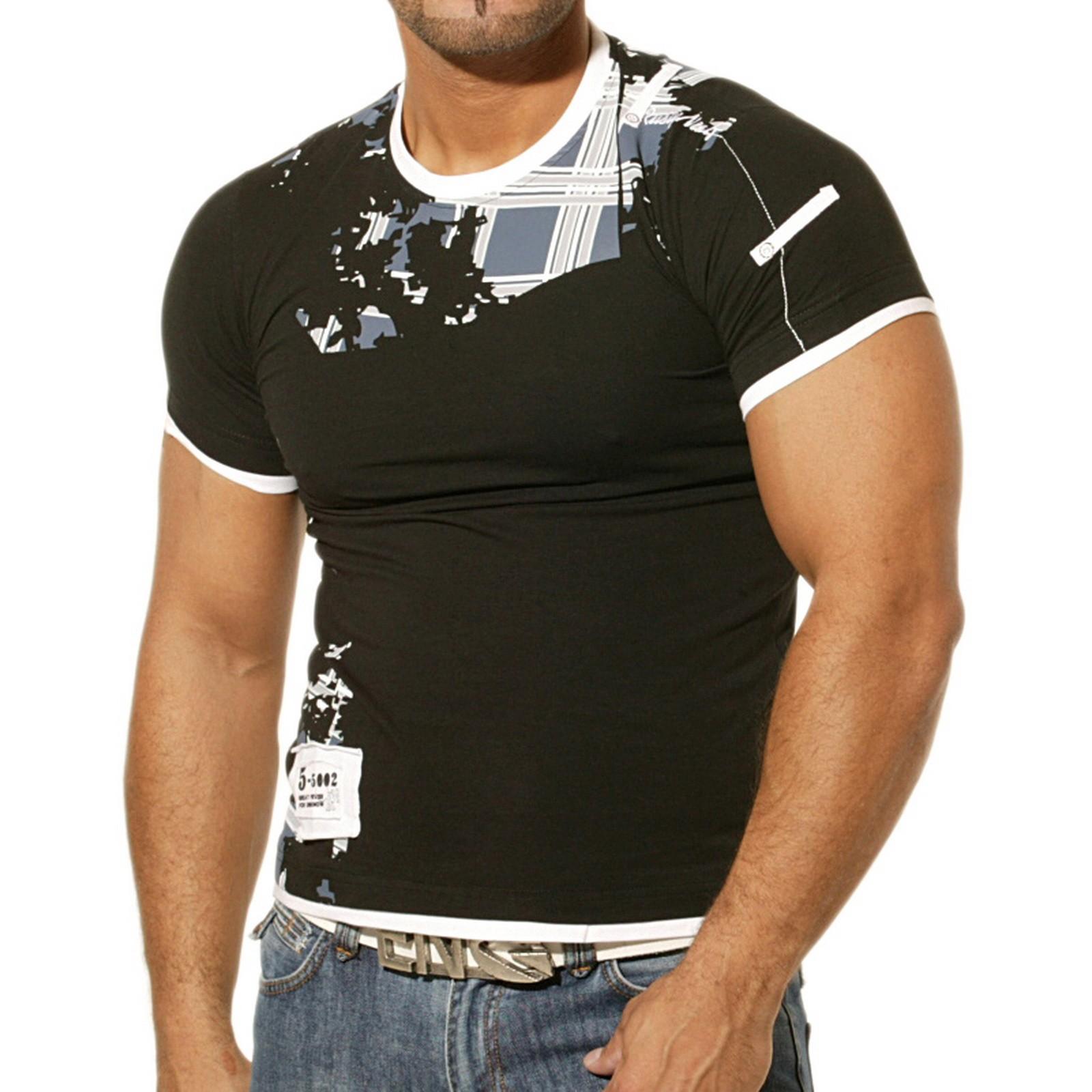 T-Shirt Schwarz 732 Rusty Neal