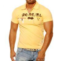 Polo T-Shirt Gelb 720 Rusty Neal 001