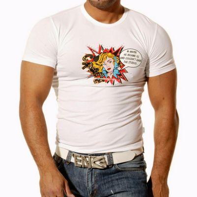 T-Shirt Weiß 418 Rusty Neal