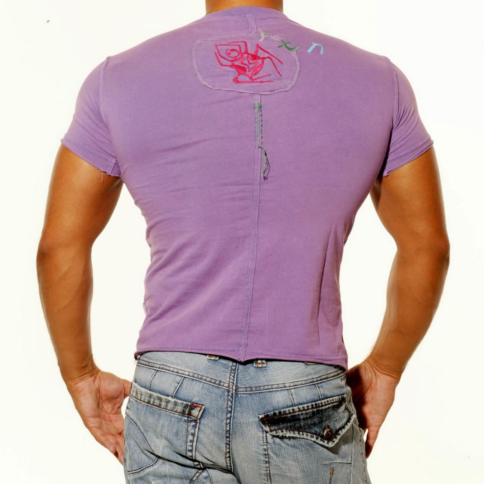T-Shirt Lila 407 Rusty Neal