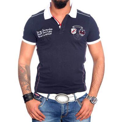 Poloshirt Blau 6619 R-Neal