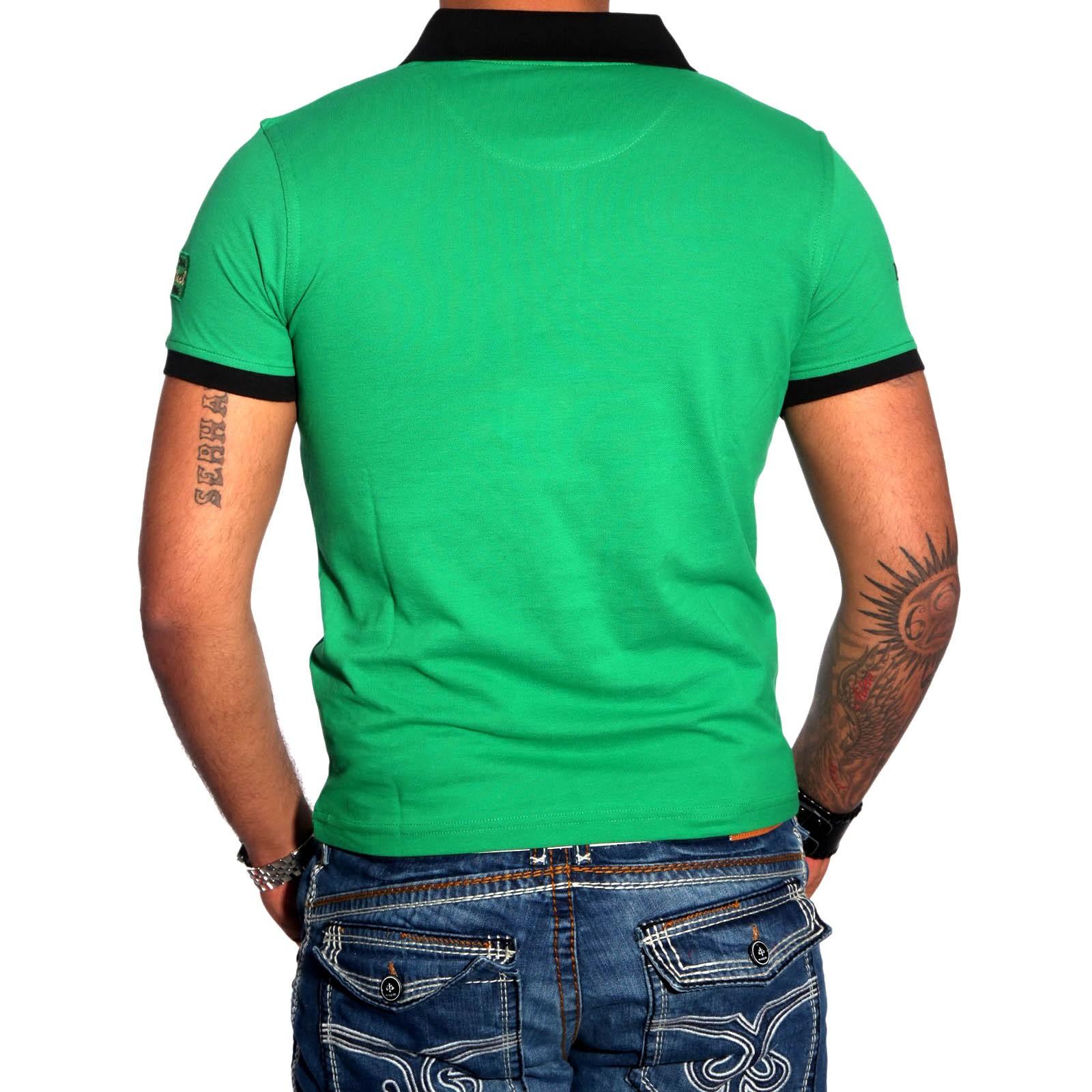 Poloshirt Grün 6619 R-Neal