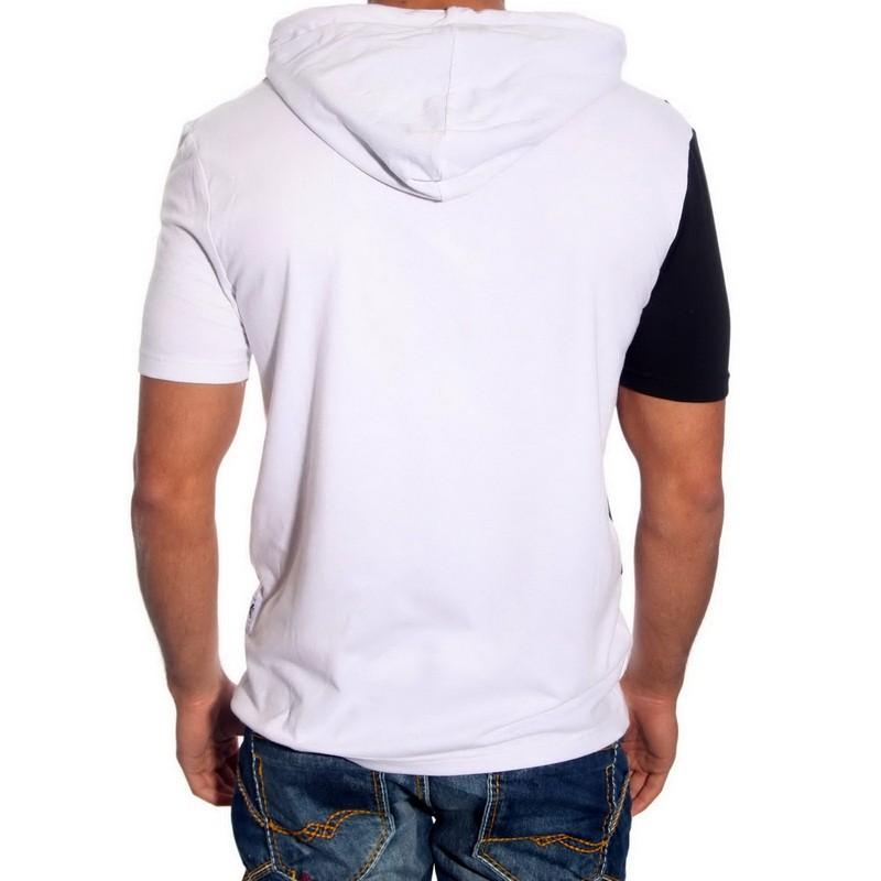 T-Shirt Kapuzen 6579 R-Neal Herren Shirt Kurzarm Rundhals