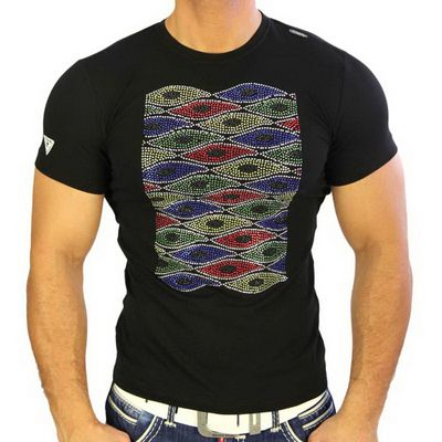 T-Shirt 4318 Strass Style Rusty Neal
