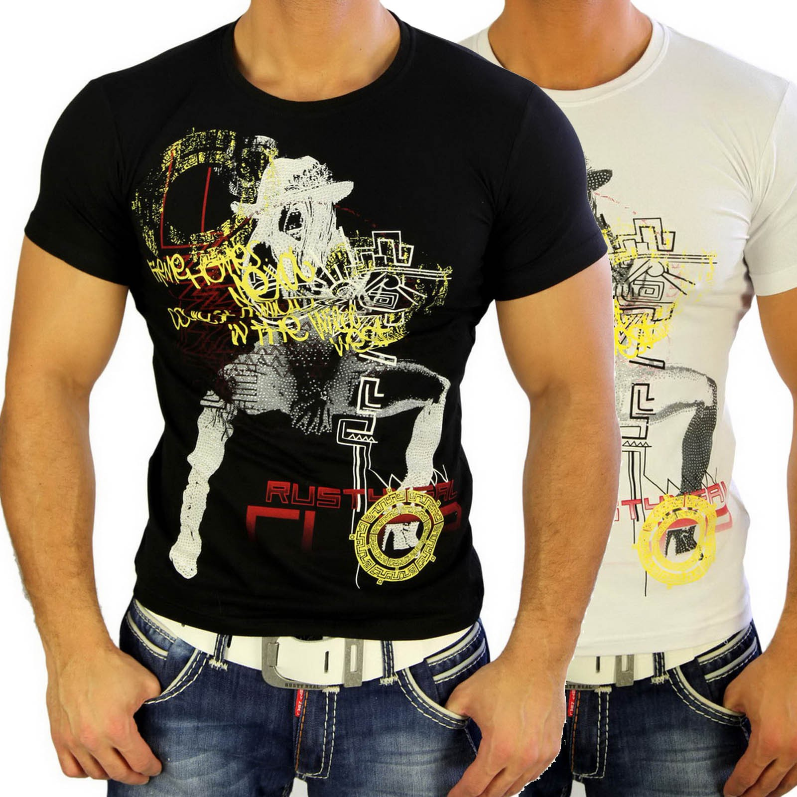 T-Shirt 3390 Strass Style Rusty Neal