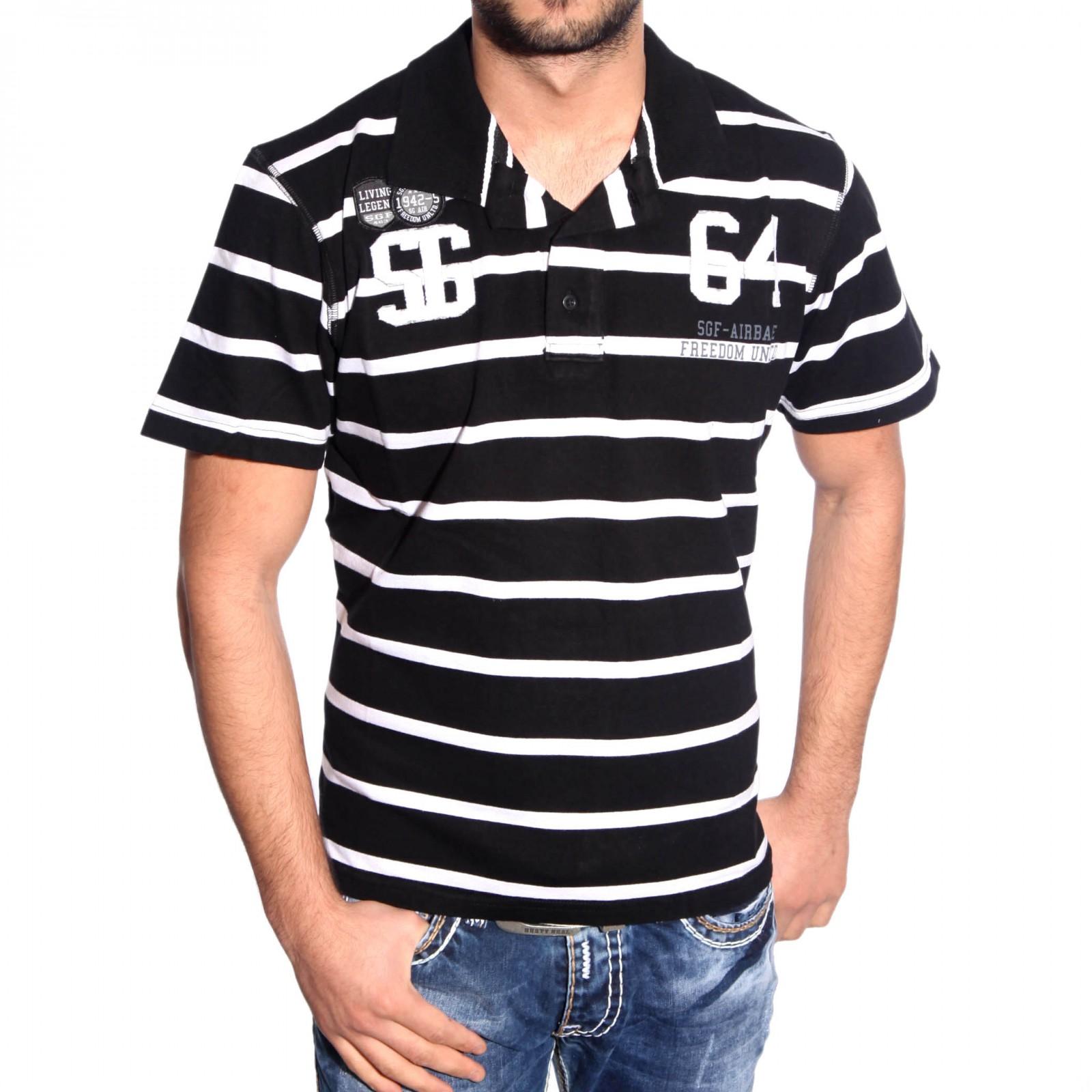 T-Shirt Schwarz SG112