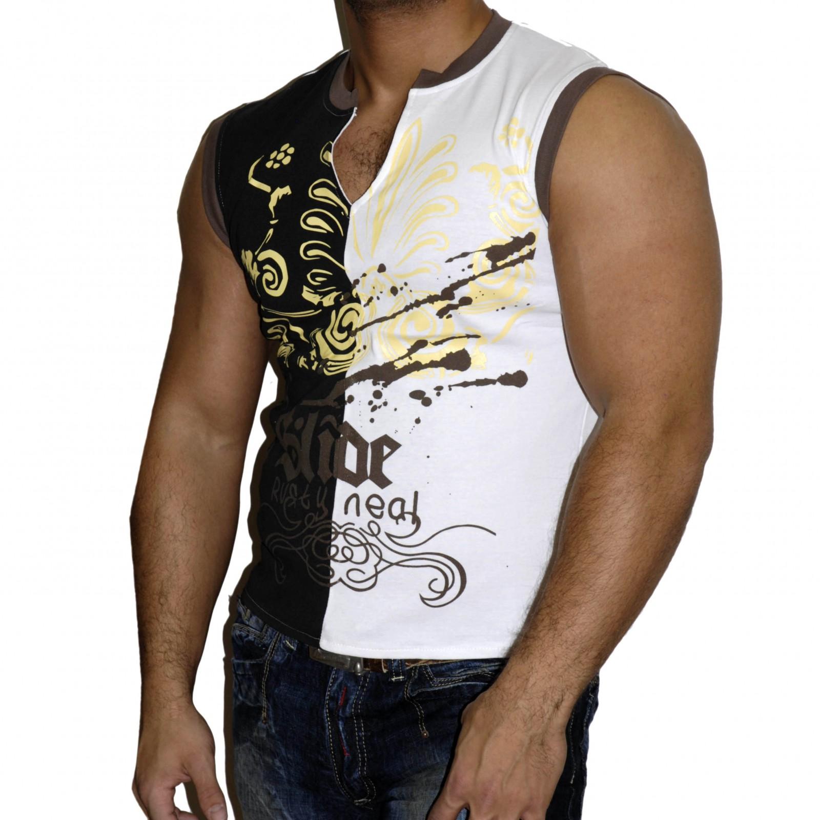 T-Shirt Weiß 844 Rusty Neal