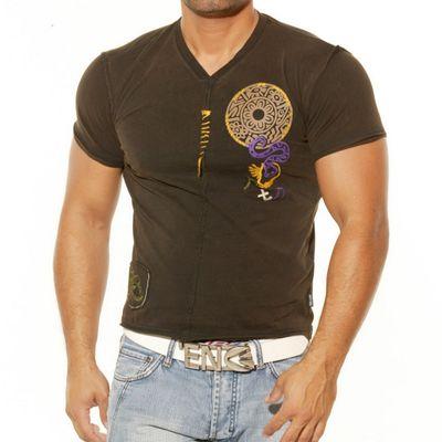 Rusty Neal T-Shirt Braun 407