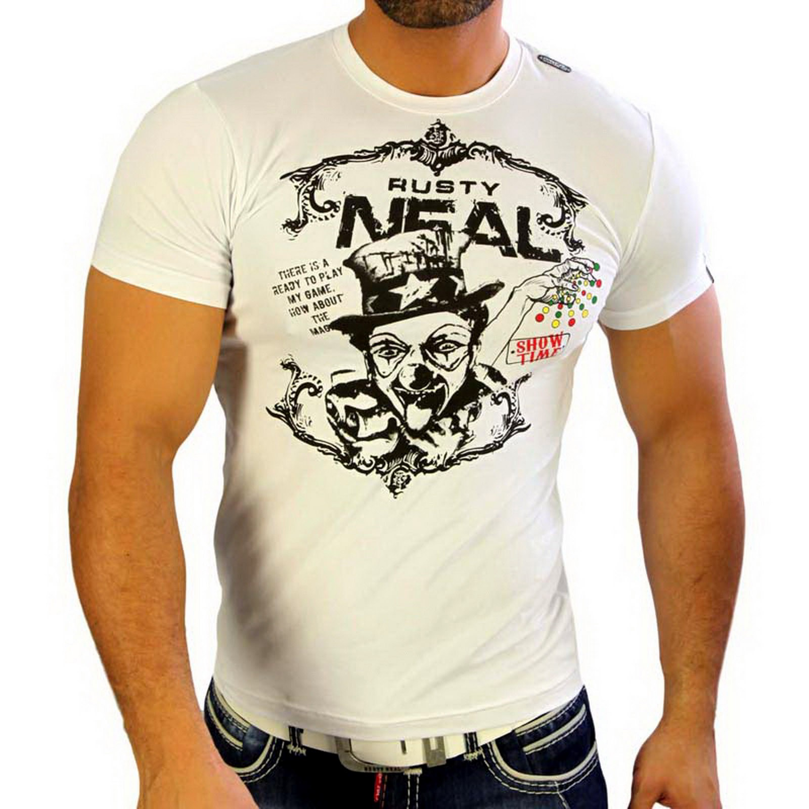 T-Shirt 4317 Strass Style Rusty Neal