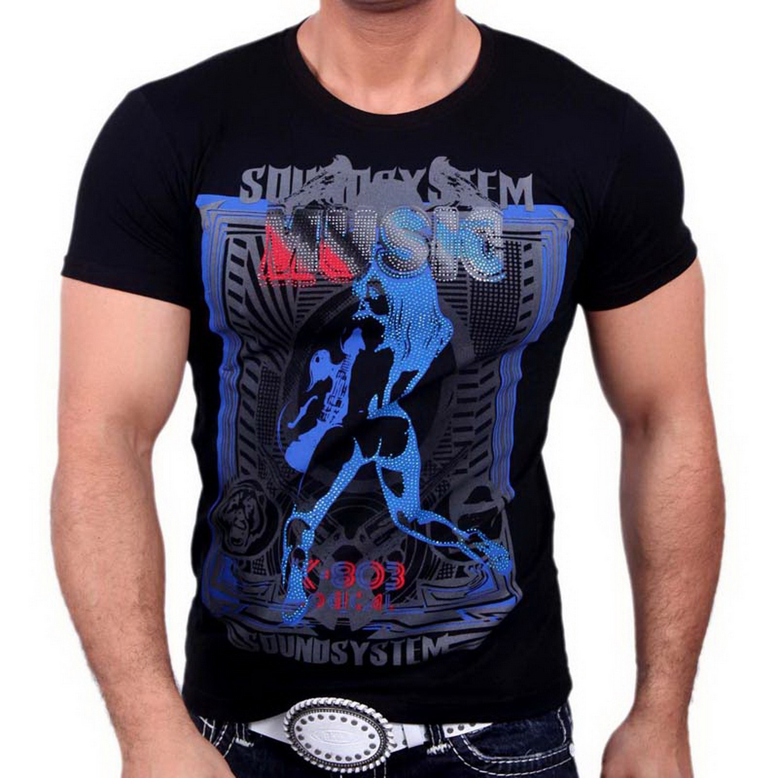 T-Shirt 3387 Strass Style Rusty Neal