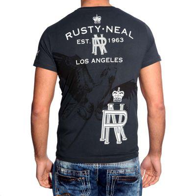 T-Shirt 3456 Schwarz Rusty Neal