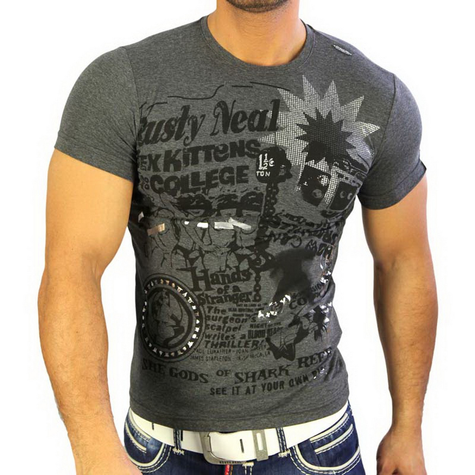 T-Shirt 4315 Strass Style Rusty Neal