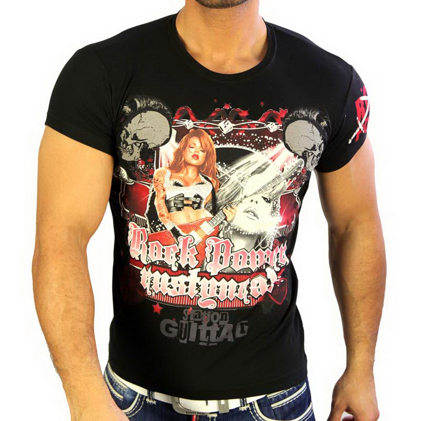 T-Shirt 3392 Strass Style Rusty Neal