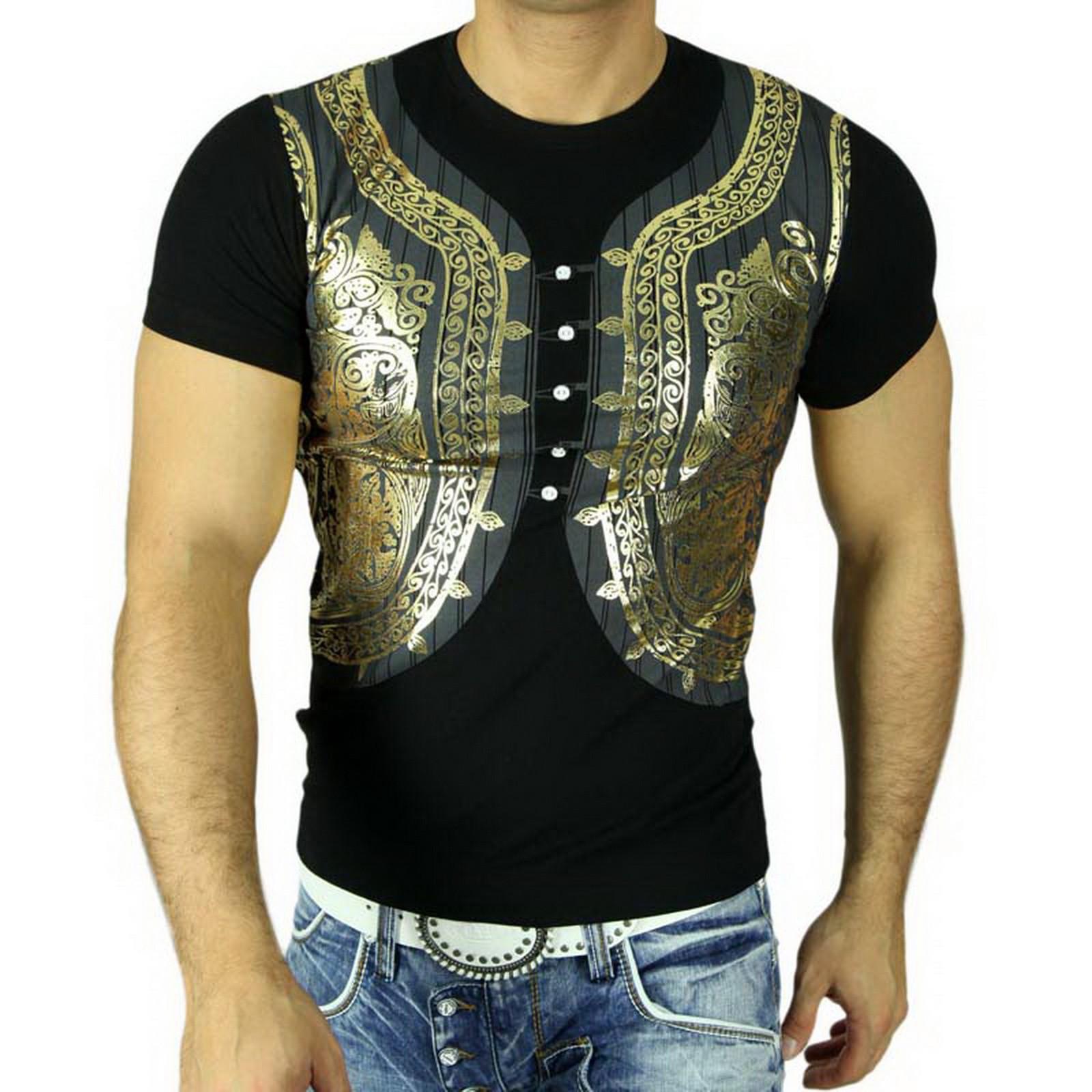 Polo T-Shirt 5040 Schwarz Rusty Neal