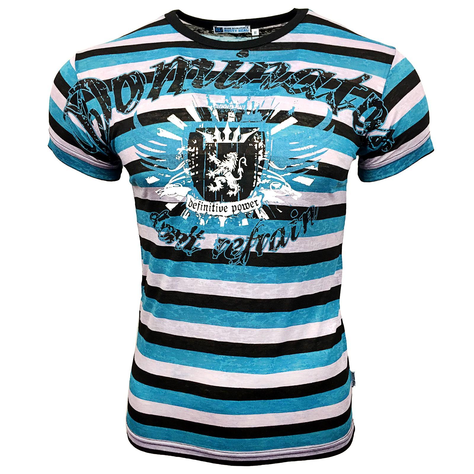 T-Shirt 498 Lila Rusty Neal