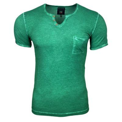 T-Shirt Grün Herren