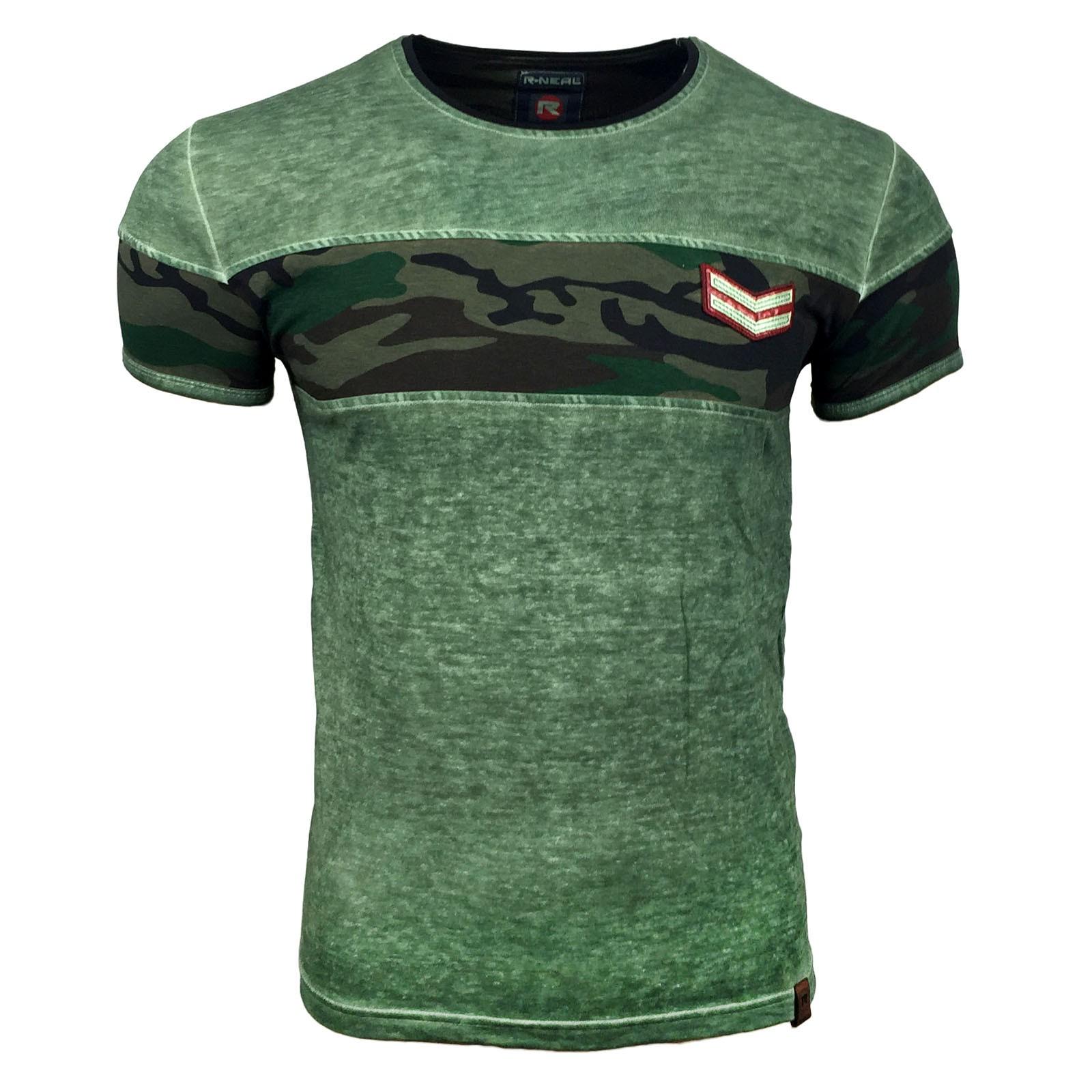 T Shirt Herren Kurzarm Khaki Herren T Shirts Kurzarm