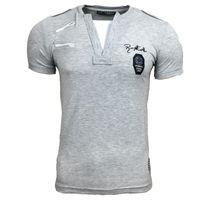 T Shirt Herren Kurzarm Grau A1R-502 001
