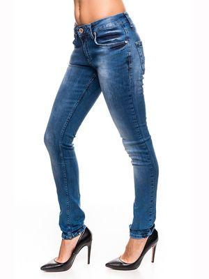 Damen Jeans 7603 Dicke Naht Röhrenjeans