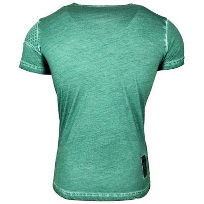 T Shirt Herren Kurzarm Print Motiv A16784