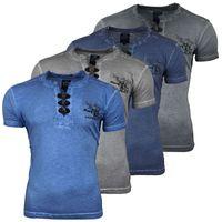 T Shirt Herren Kurzarm Print Motiv A16789