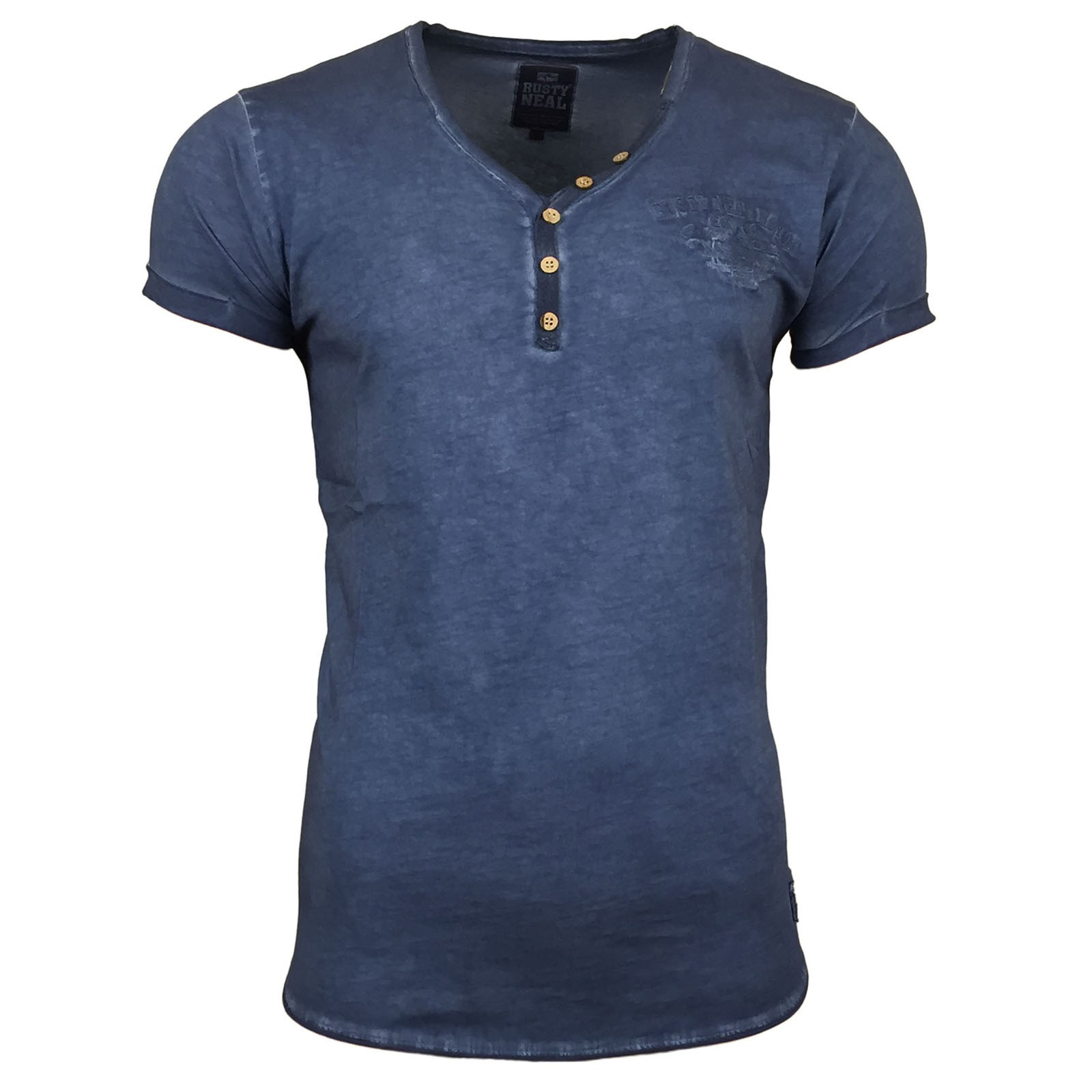 T Shirt Herren Kurzarm Print Motiv A16845