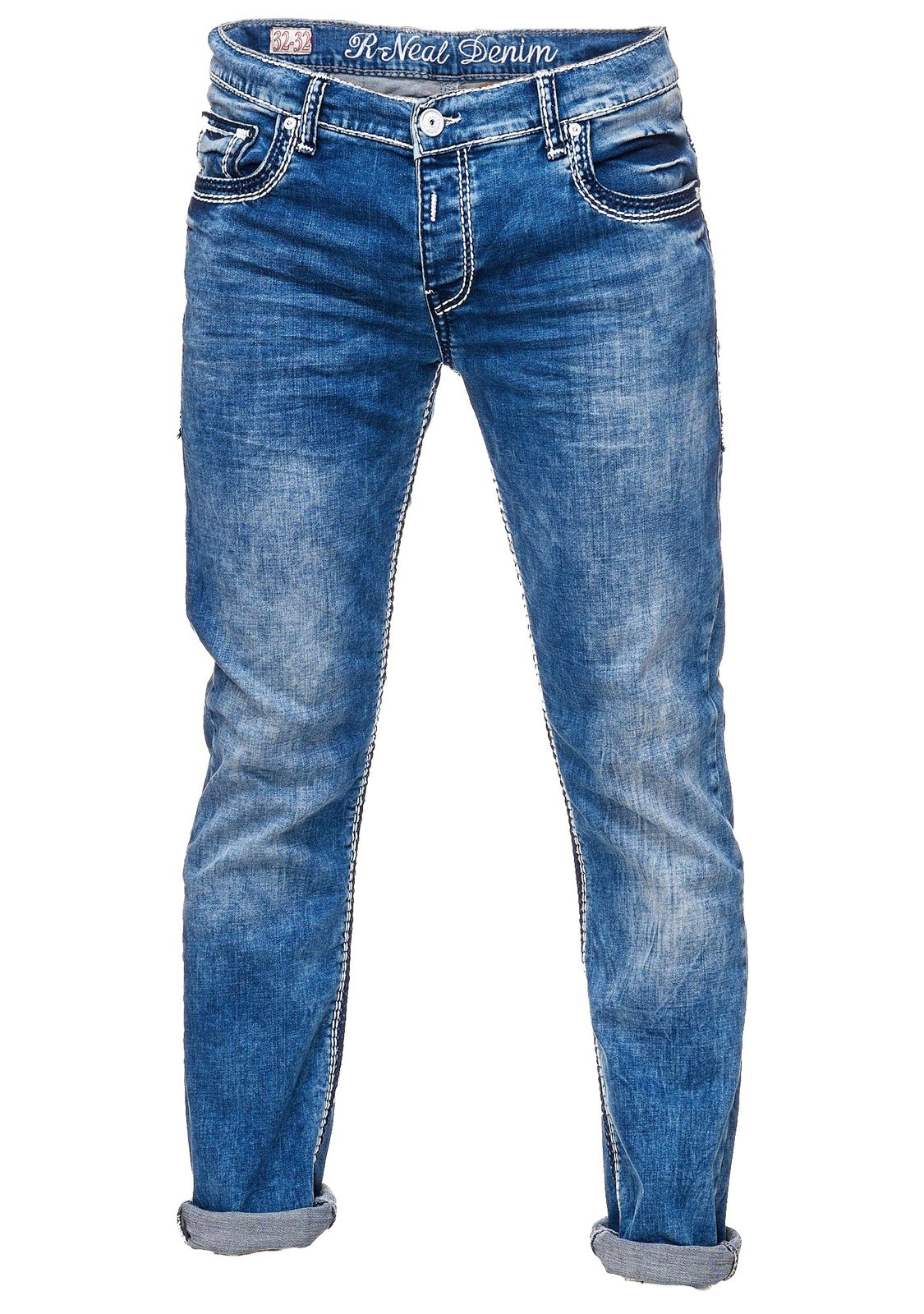 Rusty Neal Herren Jeans Hose 7444-Mix