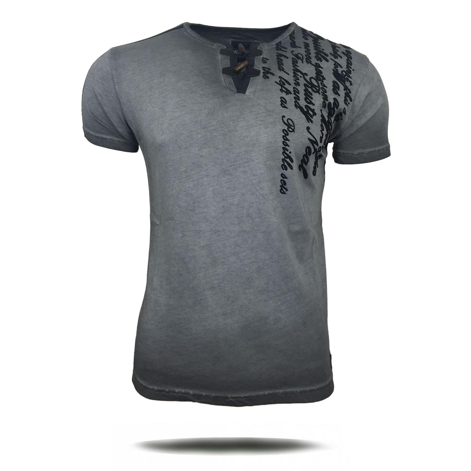 t shirt herren kurzarm print motiv a16754 herren t shirts. Black Bedroom Furniture Sets. Home Design Ideas