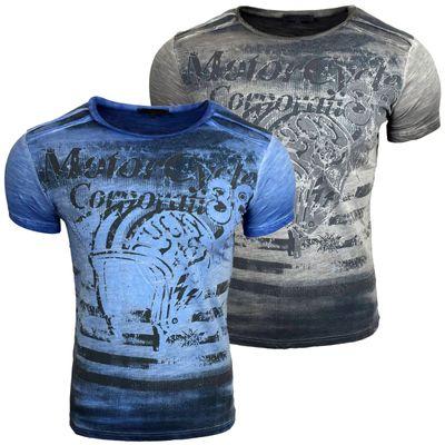 T Shirt Herren Kurzarm A1-RN15015