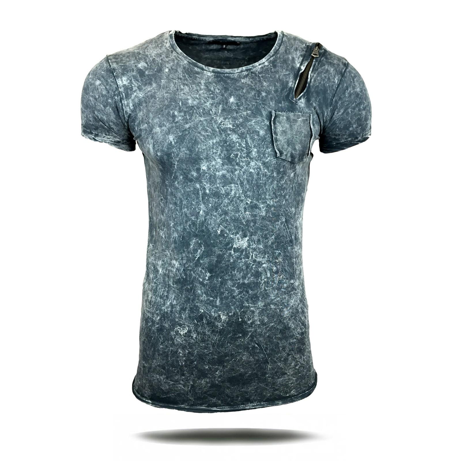 shirt herren mit rei verschluss a1 rn6844 y herren t shirts kurzarm. Black Bedroom Furniture Sets. Home Design Ideas