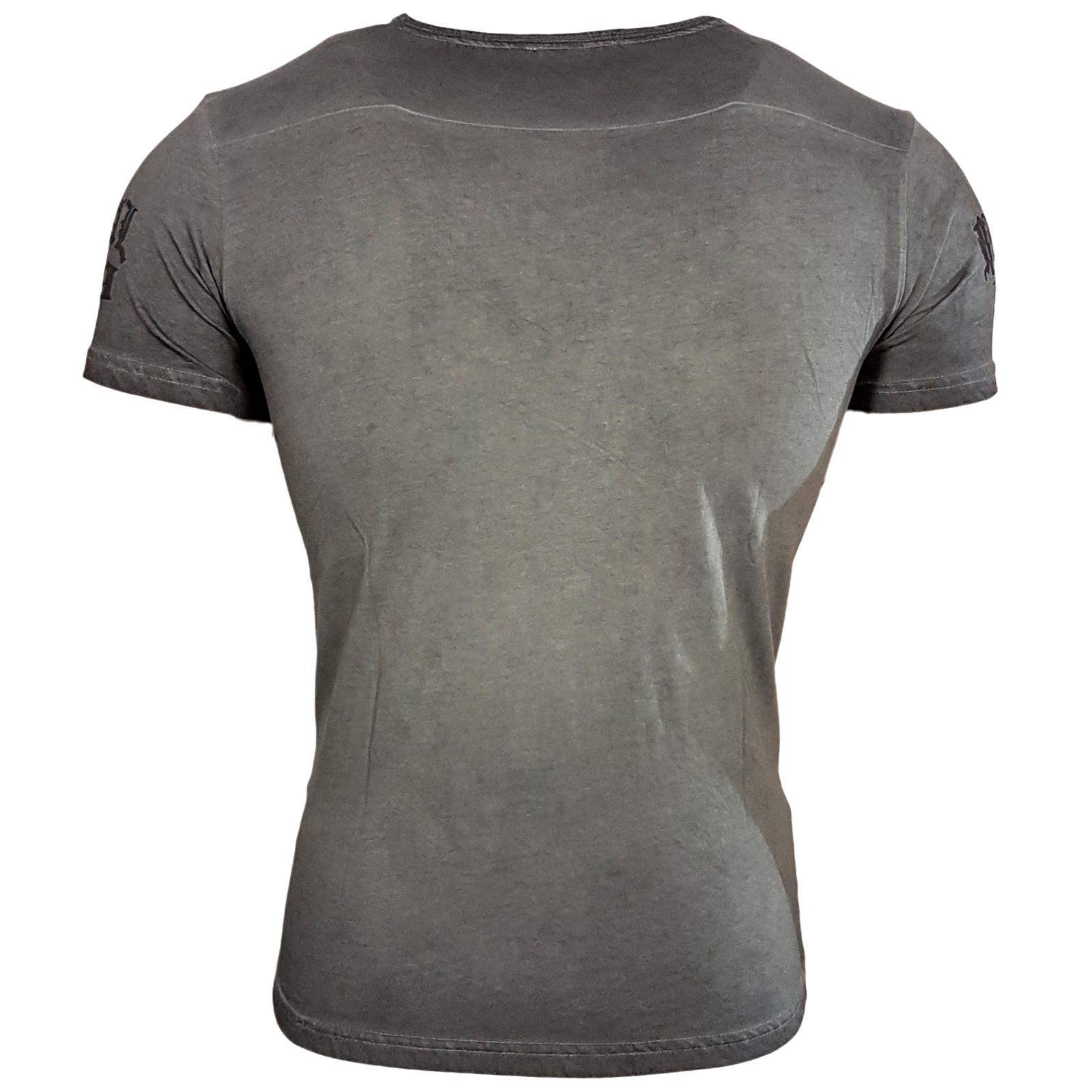 15071 Herren T-Shirt Blume