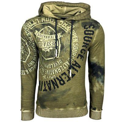 Kapuzenpullover Hoodie Pullover Rusty Neal 19113