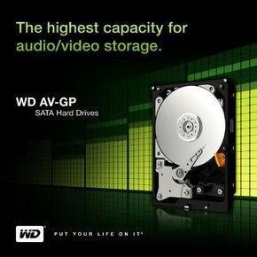 "Western Digital 2TB AV-GP 3,5"" 64MB SATA-300 WD20EURS 2000GB interne Festplatte"