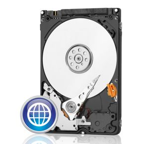"WD 750GB 2,5"" Blue SATA3 Notebook Festplatte"