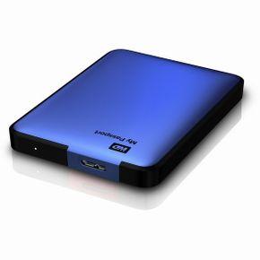 "WD My Passport 500GB USB3.0 2,5"" externe Festplatte blau"