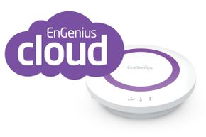 EnGenius ESR350 Wireless N300 2,4GHz 300Mbps Cloud Router, 4-Port Gigabit Ethernet Switch, USB 2.0 & EnShare – Bild 1