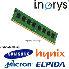 i.norys - 1GB (1x 1GB) DDR 400MHz C3 (PC 3200) DIMM 184pin Desktop Arbeitsspeicher RAM Memory