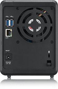 Zyxel NAS326 8TB 2-Bay Persönlicher Cloud Speicher, 2x 4TB 1,3Ghz Single Core CPU, 512MB DDR3 RAM, 2x USB 3.0, 1x USB 2.0, 1x RJ45 – Bild 4