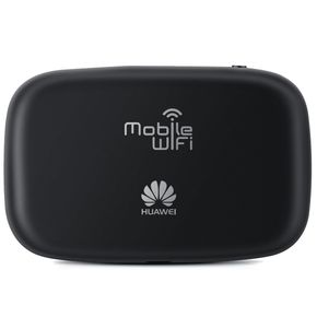 "Huawei E5336 3G HSPA MIFI Router Modem 21Mbit (1,45"" LED Display, 10 User, Micro SD Card) schwarz – Bild 4"
