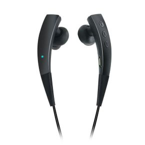 BIG D1 Bluetooth Sports In-Ear Headset patentiertes Design mit Magnetverschluss, schwarz