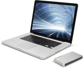 "LaCie Mobile Drive (LAC9000461) 2.5""  - 2 TB Festplatte - Light Grey – Bild 4"