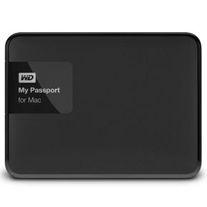 "Western Digital My Passport for Mac 2TB 2,5"" USB 3.0 (WDBCGL0020BSL) externe Festplatte – Bild 1"